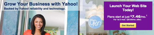 Yahoo! Hosting Coupon