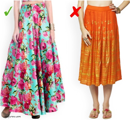 8 Tips on How to Select Indian Wear for Pear Shape Women ...