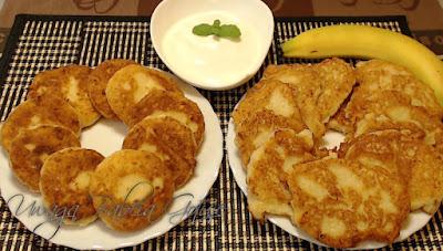 placki z białym serem, twarogiem przepis