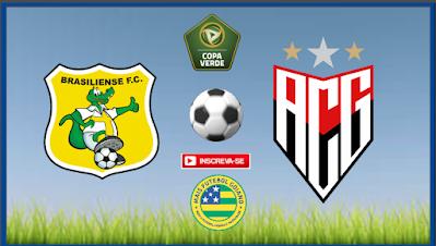 Brasiliense x Atlético - Valendo vaga nas semifinais da Copa Verde