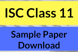 ISC Class 11 MODEL Paper 2020 SOLVED – Maths Sample Paper