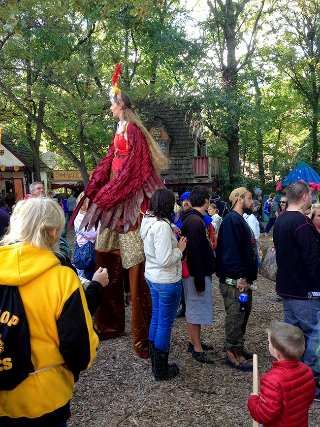 Kansas City Renaissance Festival with ONE little MOMMA