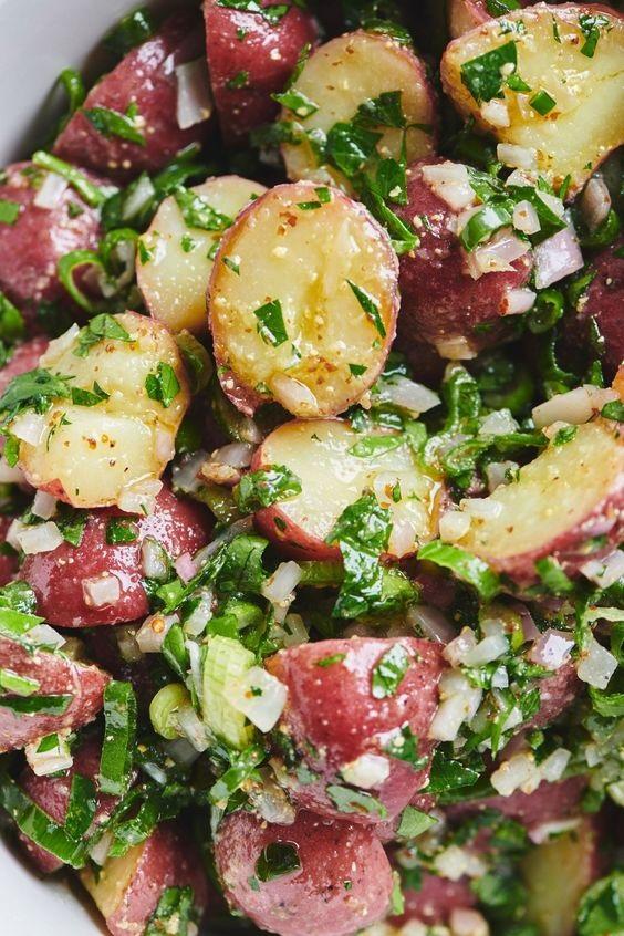 Mayonnaise-Free Potato Salad