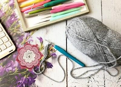 6 Piezas de Crocheteria-Bisutería a ganchillo fácil de tejer