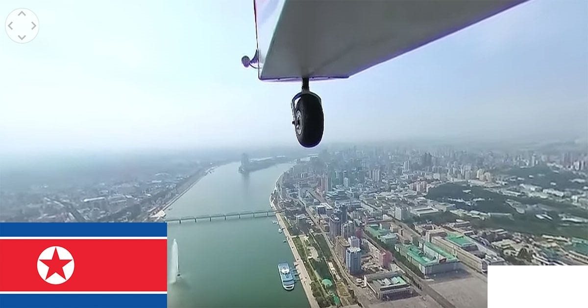 Watch The World's First Aerial 360 Video Of North Korea's Secretive Capital Pyong Yang