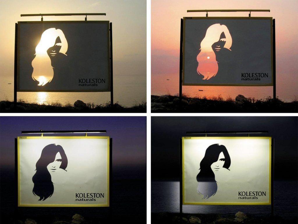 Koleston Naturals billboard
