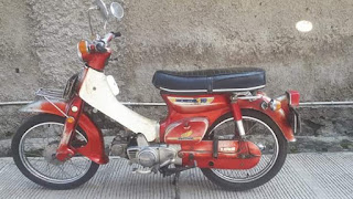 Jual Motor Klasik Honda 70 tangan pertama_