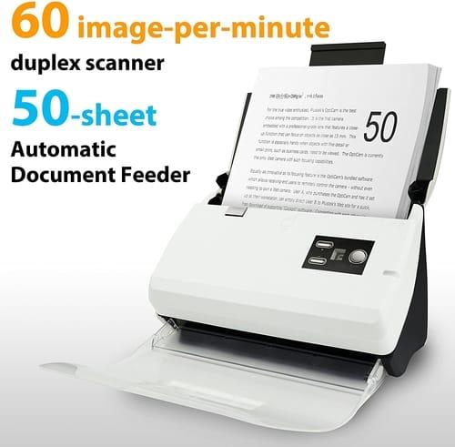 Review Plustek PS30D Duplex Document Scanner