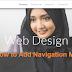 Google Sites: Cara Membuat Menu Navigasi Website