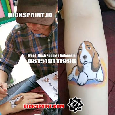 body painting anak jakarta