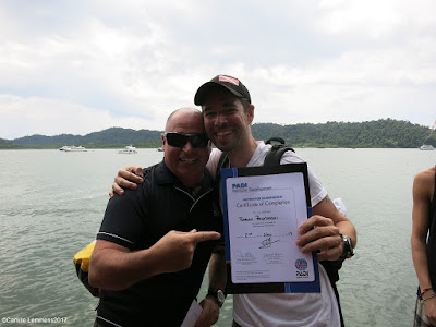 Testimonial by Florian Przytarski of the October 2017 PADI IDC in Khao Lak, Thailand