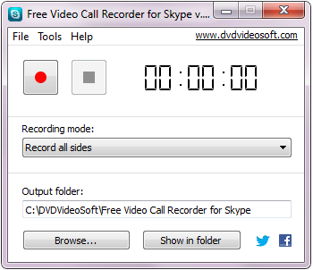Free Software for Record Skype Video Calls