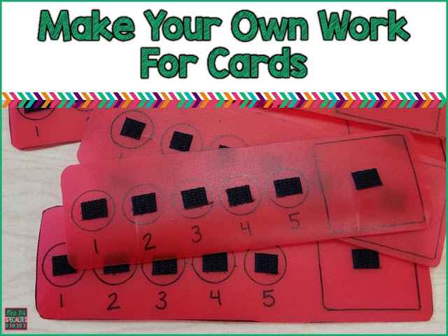 Make durable work for cards for cheap!!