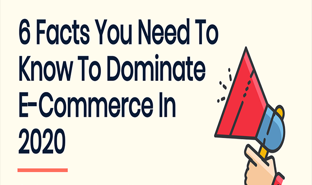 6 Facts You Need to Know to Dominate e-Commerce in 2020 #infographic