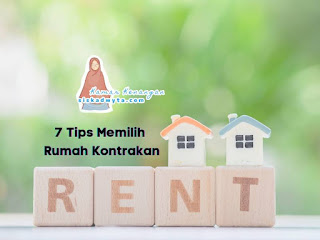 Tips nemilih rumah kontrakan untuk ditinggali bersama keluarga