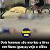 Dois homens são mortos a tiros em Nova Iguaçu; veja o vídeo