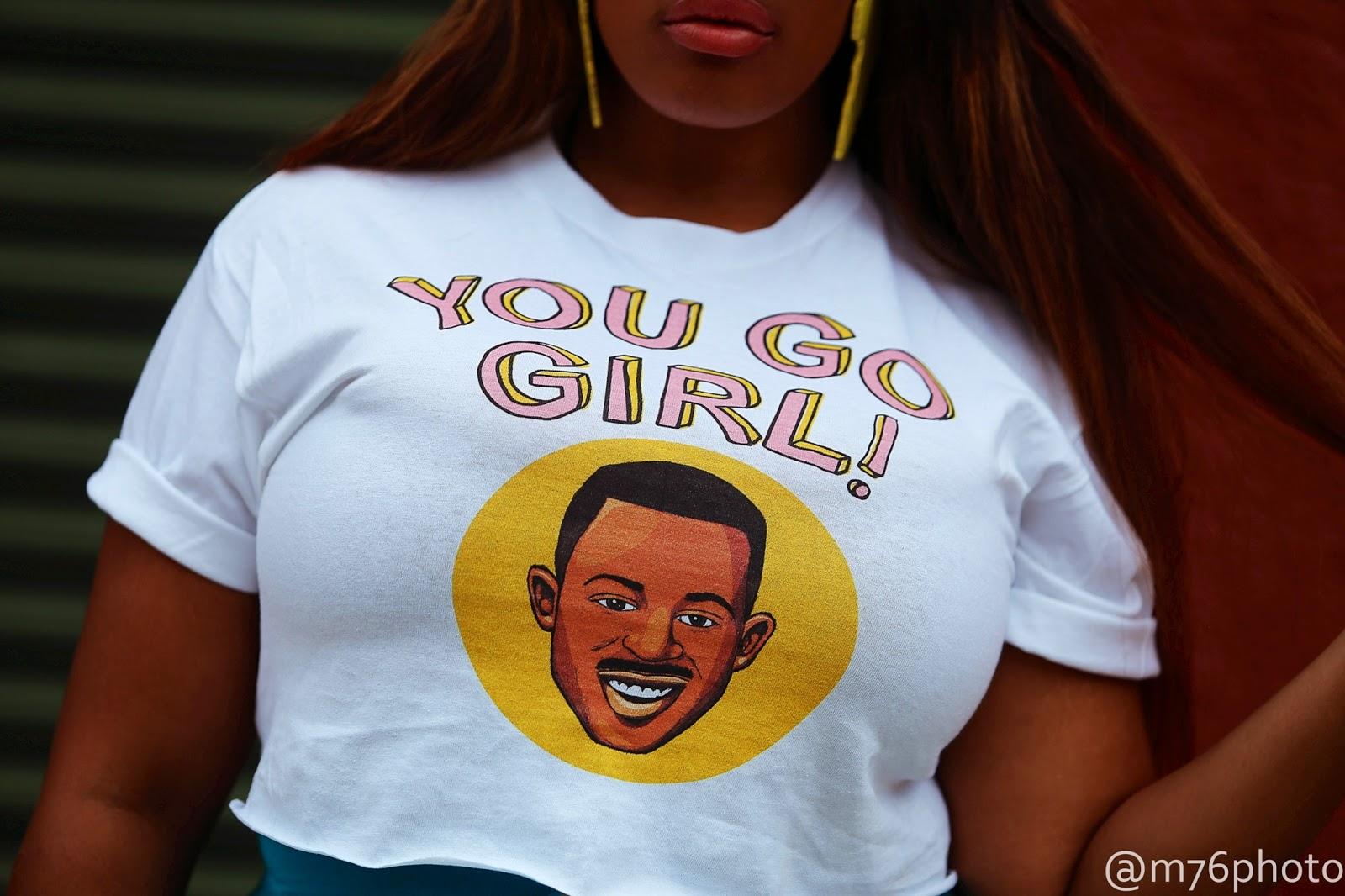 I am a huge huge, huge lover of graphic t shirts ...