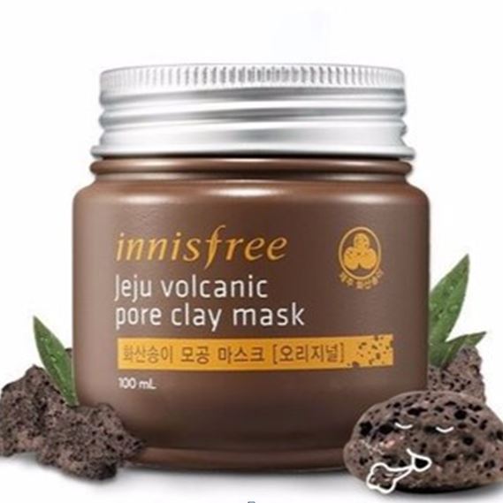 masker-wajah-korea-Innisfree-Jeju-Vocanic-Pore-Clay-Mask-100-ml
