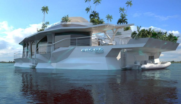 Luxury yacht Orsos