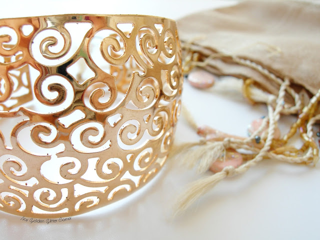 Chic-net-bracciale-bangle-ottone-spirale-jewel-color-oro