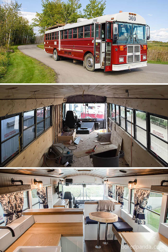 20 Mind-Blowing Bus And Van Transformations