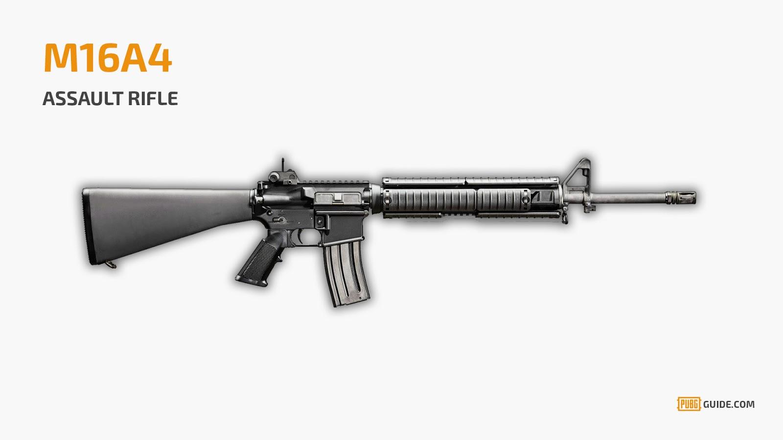 سلاح ببجي m16a4