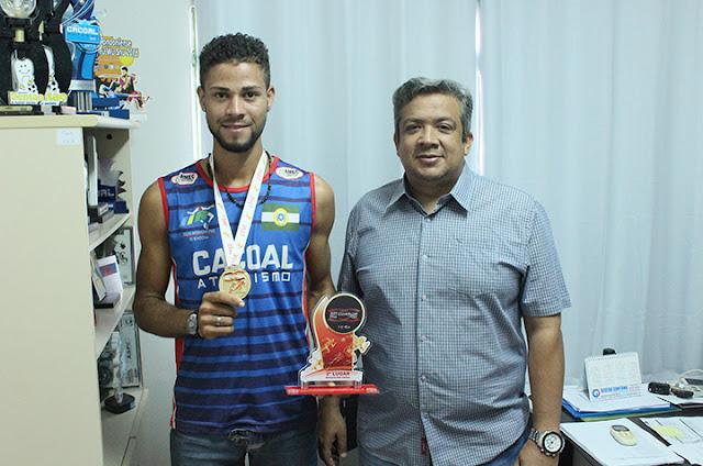Cacoalense conquista o 2º lugar na XVII Corrida do fogo em Porto Velho