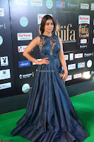 Shriya Saran in Beautiful Transparent Dark Gown IIFA Utsavam Awards 2017 024.JPG