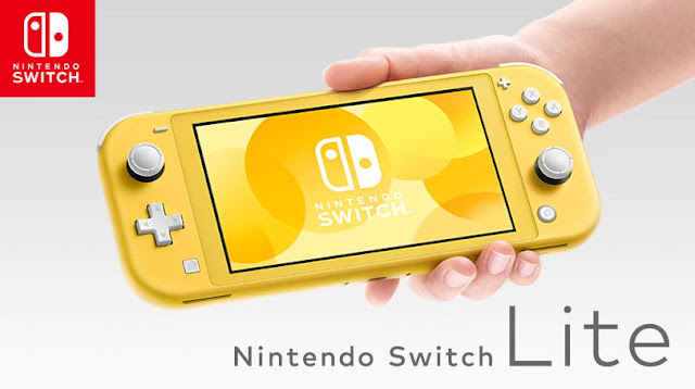 Nintendo Switch Lite Akan Dirilis 20 September 2019