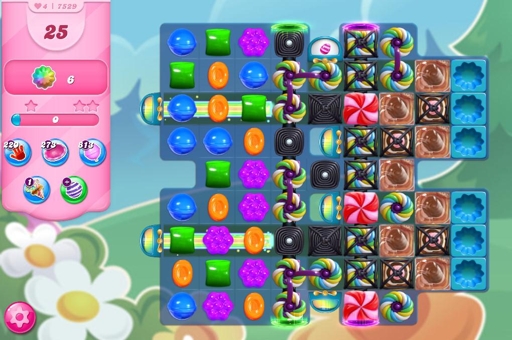 Candy Crush Saga level 7529