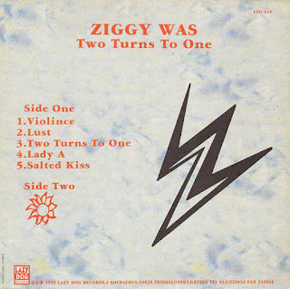 Ziggy Was - (1995) Two Turns To One_back