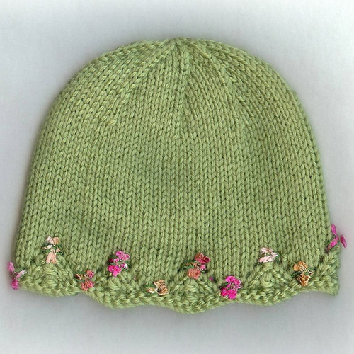 One Day Baby Hat - Free Pattern