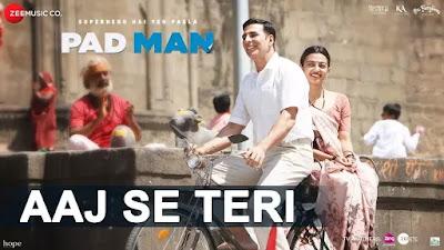 Aaj Se Teri Lyrics