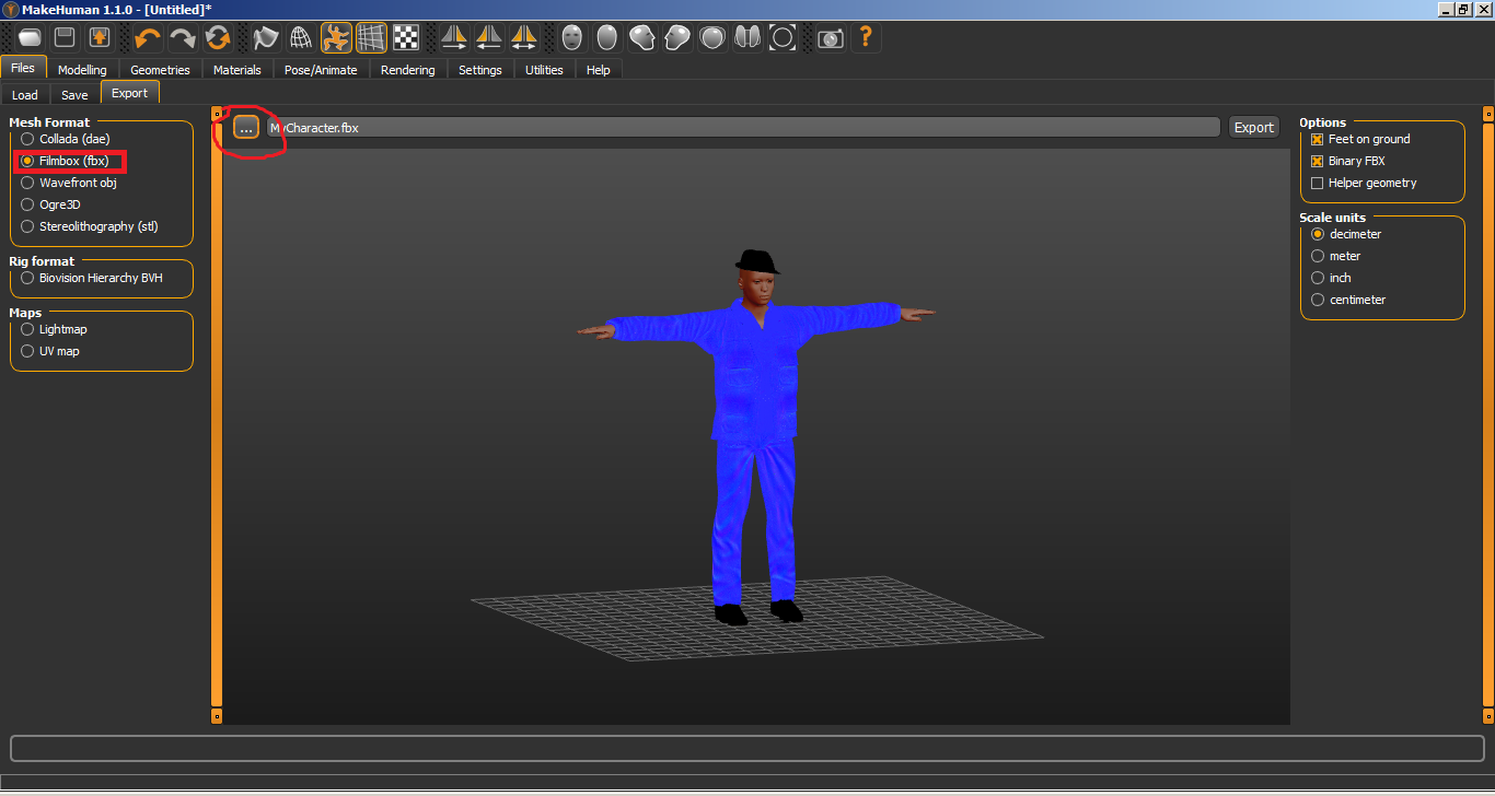 Game Development Guide: Animation Ready Rigged Human model