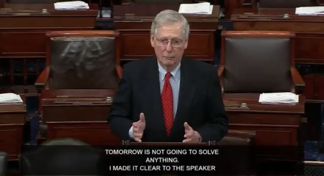McConnell Thumps Pelosi: The Senate Will Not Waste Its Time Considering a Democrat Bill Which the President Won't Sign (VIDEO)