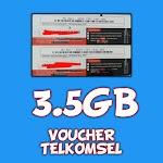 VOUCHER TELKOMSEL 3,5GB SULSEL