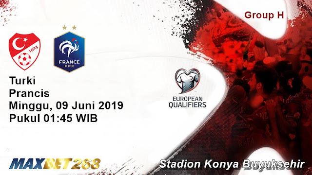 Prediksi Turki Vs Prancis, Minggu 09 Juni 2019 Pukul 01.45 WIB