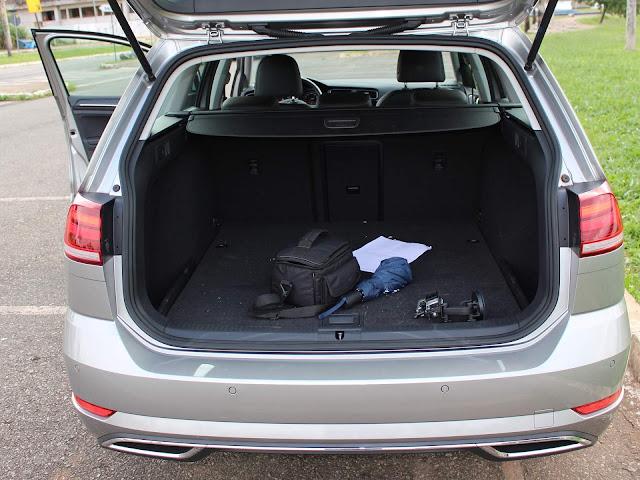 Volkswagen Golf Variant 2018 - porta-malas de 610 litros