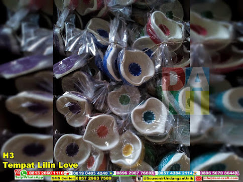 jual Tempat Lilin Love