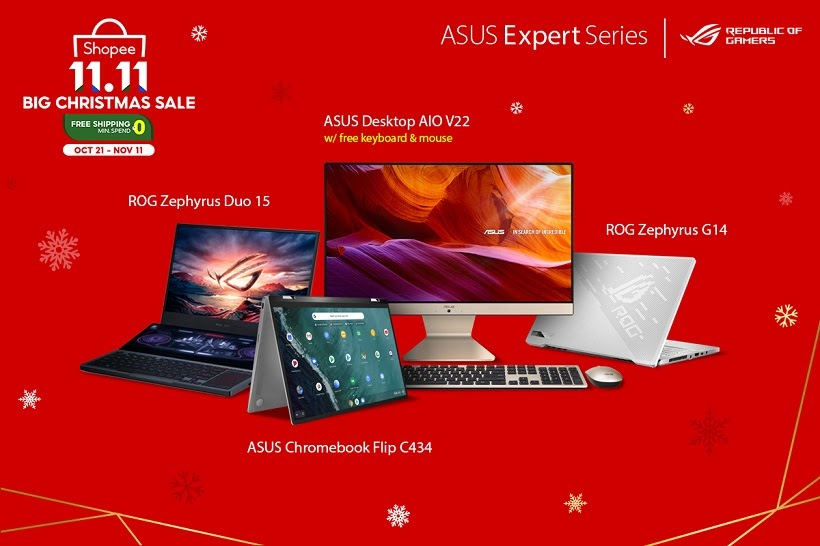 ASUS 11.11 Sale Shopee
