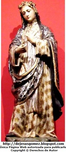 Imagen de Santa Rosa de Lima del Convento de Santo Domingo. Foto de Santa Rosa de Lima tomada por Jesus Gómez