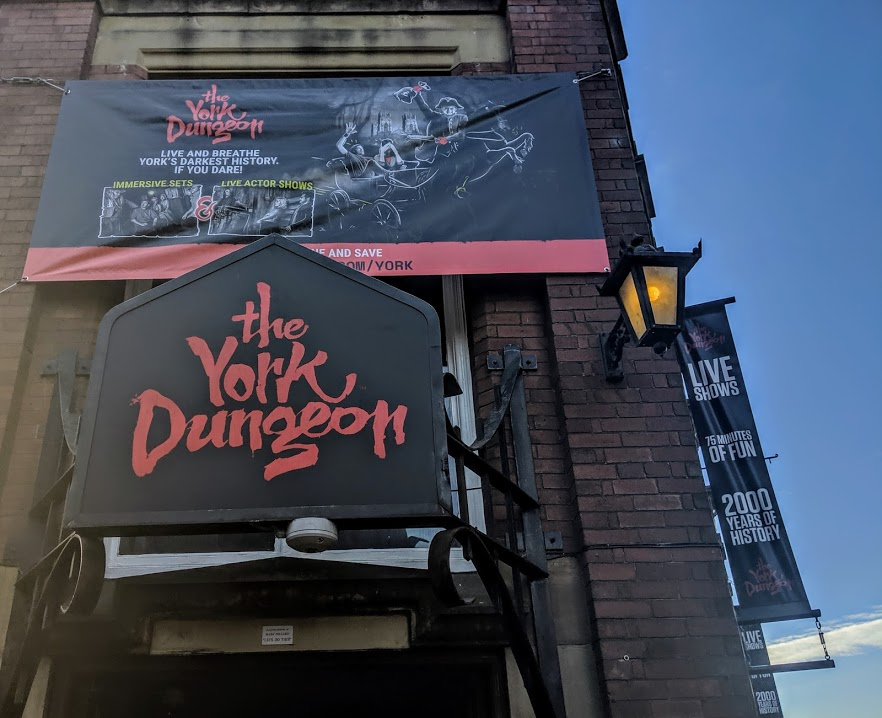 Image - the York Dungeon entrance
