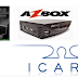 AZBOX THUNDER E BRAVISSIMO PLUS TRANSFORME EM ICARO XF5001 VIDEO TUTORIAL 20/08/2016