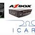 AZBOX THUNDER EM BRAVÍSSIMO PLUS TRANSFORMADO EM ICARO XF5001: ATUALIZAÇÃO MODIFICADA - 20/08/2016