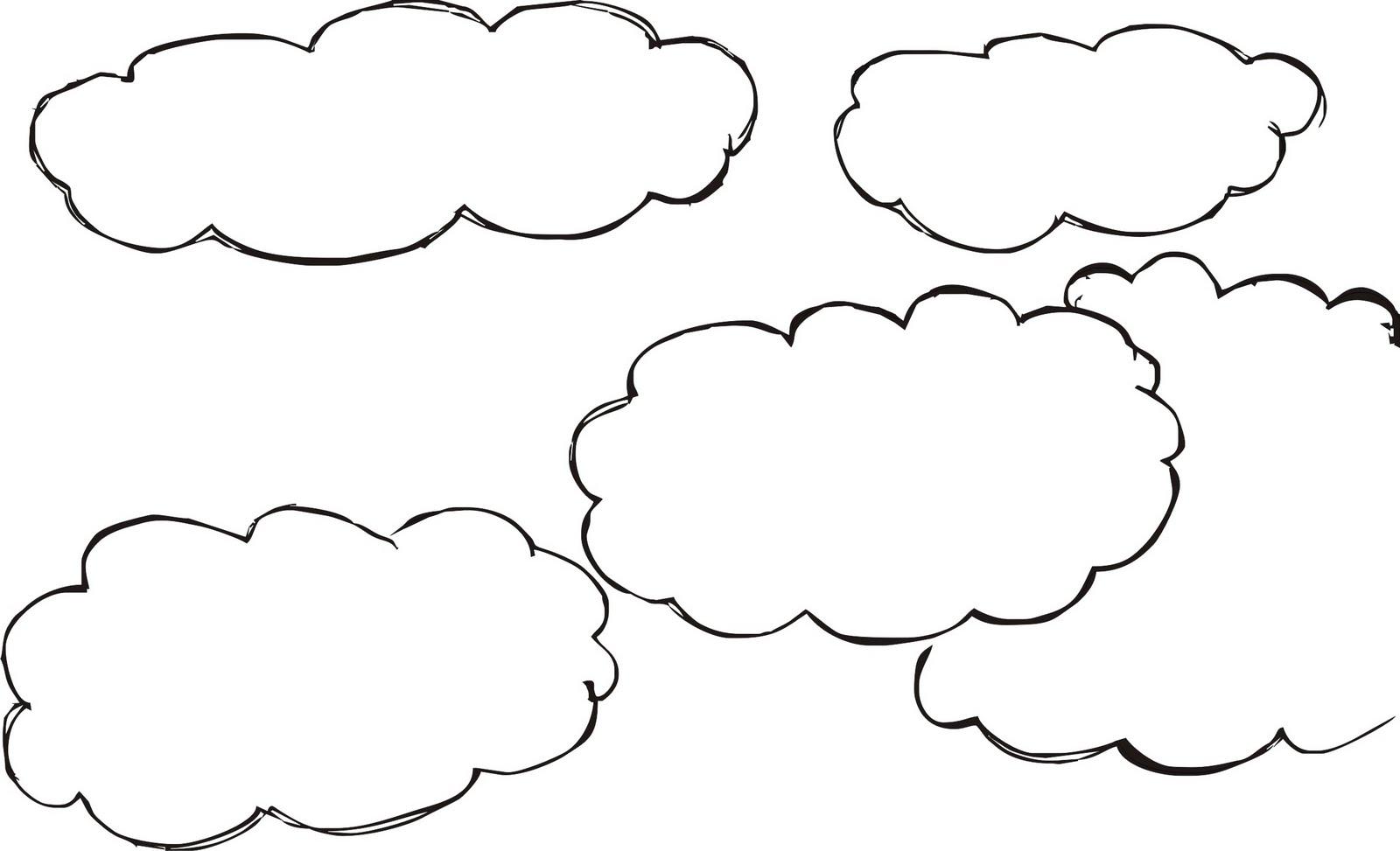 Desenhos Para Colorir Desenho Para Colorir De Nuvens Desenho De