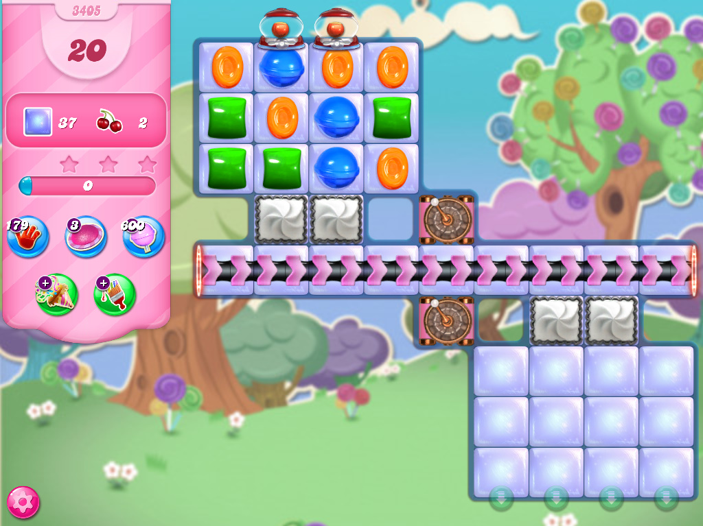 Candy Crush Saga level 3405