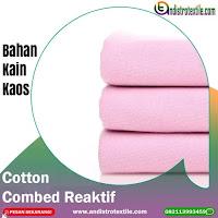 Jual Kain Kaos Cotton Combed 30s Tasikmalaya Harga Kiloan Murah Plus Rib