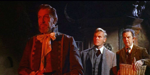 Vincent Price as the Captain contemplates his city's bleak future in War-Gods of the Deep (1965)
