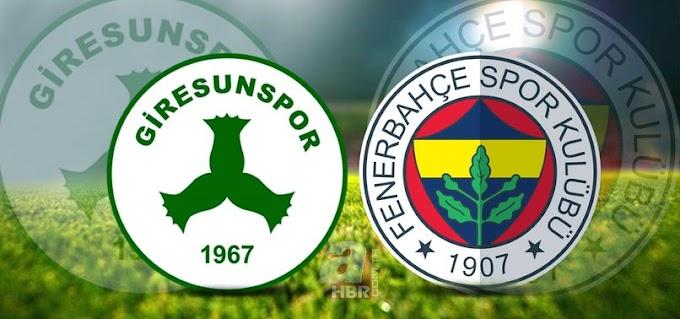 Fenerbahçe Giresunspor şifresiz izle