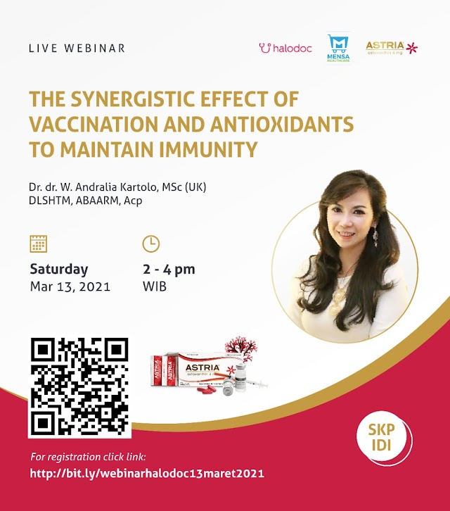 (FREE SKP IDI) Webinar The Synergistic Effect of Vaccination and Antioxidants To Maintain Immunity